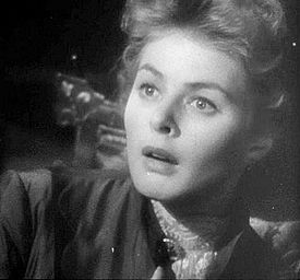 Photo of Ingrid Bergman in Gaslight