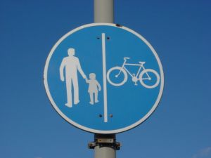 Parent & Child on Sign