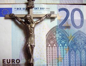 Crucifix and Money