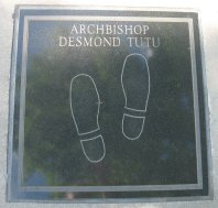 Desmond Tutu - Civil Rights Walk of Fame